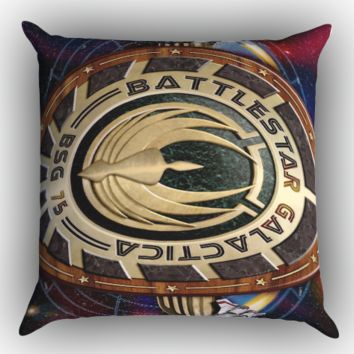 Battlestar Galactica Y0103 Zippered Pillows  Covers 16x16, 18x18, 20x20 Inches