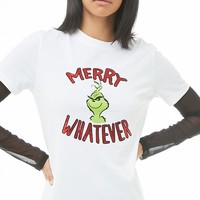 The Grinch Merry Whatever Graphic Tee