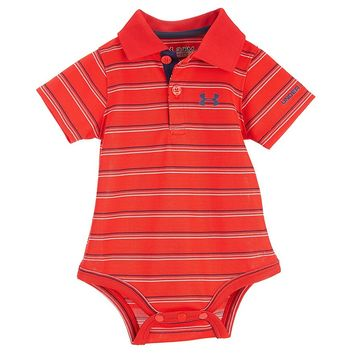Under Armour Baby Boys Newborn-12 Months Polo Bodysuit | Dillards