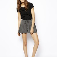 ASOS Shorts With Frill Hem