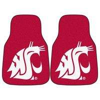 Washington State Cougars NCAA Car Floor Mats (2 Front)