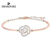 SWAROVSKI Exquisite camellia bracelet, simple but not precious