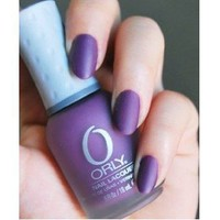 Orly Nail Lacquer, Purple Velvet, 0.6 Fluid Ounce