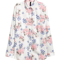 Viscose Shirt - from H&M