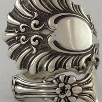 Size 8 Vintage Sterling Silver Whiting Spoon Ring