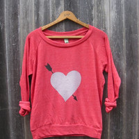 you're my favorite Heart Pullover, Valentine's Day Gift, Heart Sweater, Gift for a Loved One