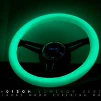 Slammedenuff — (Glow in the dark) White Wood Wheel