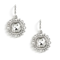 Silver Born To Shine Earrings