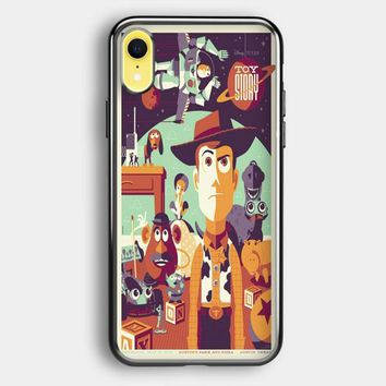 Toys Story Woody Film Art Disney Poster iPhone XR Case | Casefruits