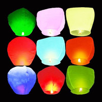 Chinese Sky Paper Candle Fire Balloons