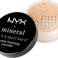 "Mineral ""Set It & Don't Fret It"" Matte Finishing Powder"