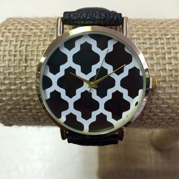 Black Watch with Damask Face
