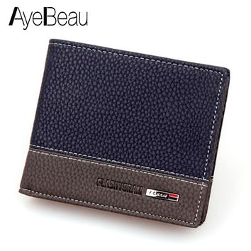 Business Card Holder For Men Wallet Male Purse Cuzdan Small Money Bag Klachi Portomonee Walet Vallet Kashelek Partmone Portmann