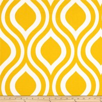 Premier Prints Emily Slub Corn Yellow