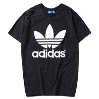 Adidas Woman Men Fashion Casual Sports Shirt Top Tee