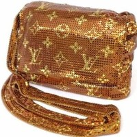 Free Shipping Pre-owned Louis Vuitton Shoulder Bag Brown 2003 Limited M92287