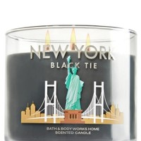 3-Wick Candle New York Black Tie