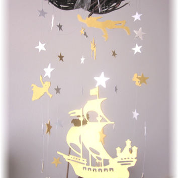 Peter Pan Nursery Mobile Star Bedding Neutral