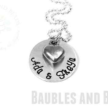 Personalized Childs' Name Necklace