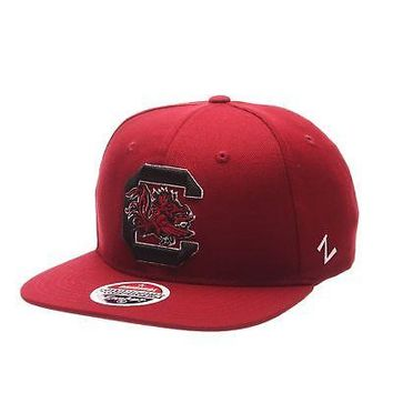 Licensed South Carolina Gamecocks Official NCAA Z11 Adjustable Hat Cap by Zephyr 526620 KO_19_1