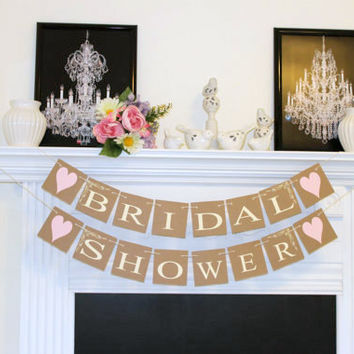 Bridal Shower Banner - Bridal Shower Decorations - Bridal Shower Banners - Bachelorette Party - Bride To Be Banner - Any Occasion banners