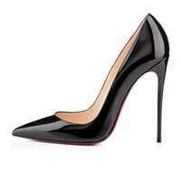 Christian_ Louboutin Fashion new ladies fashion shoes black