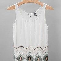 BKE Boutique Seed Bead Tank Top