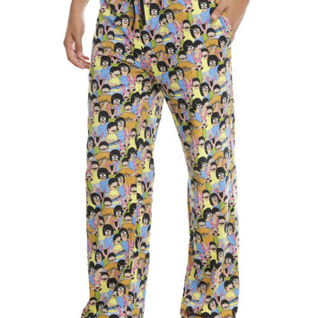 Bob's Burger Belcher Kids Guys Pajama Pants