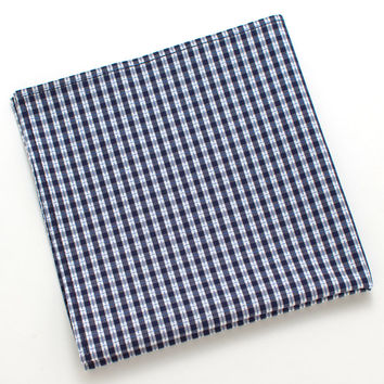 Brookhaven Check Pocket Square