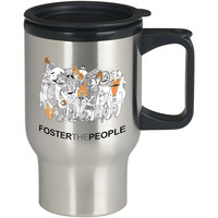 FOSTER THE PEOPLE For Stainless Travel Mug *