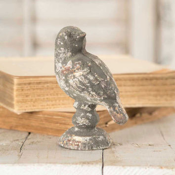 Preening Bird Metal Figurine - SET OF 4 - *FREE SHIPPING*