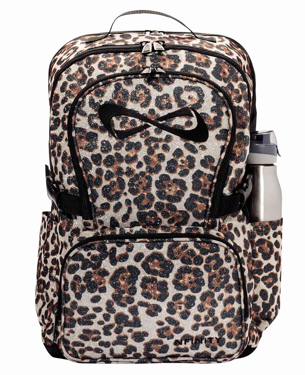 c8a0759a795c Nfinity Leopard Sparkle Backpack