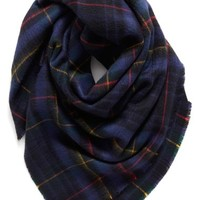 Shiraleah 'Anya' Plaid Oversize Square Scarf | Nordstrom