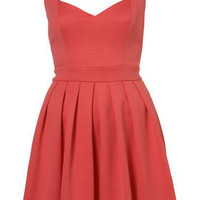 Rib Heart Back Prom Dress By Dress Up Topshop** - Dresses  - Apparel  - Topshop USA