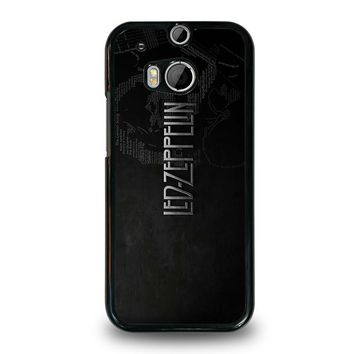 LED ZEPPELIN LYRIC  HTC One M8 Case Cover