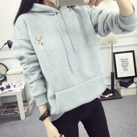 Hats Winter Korean Thicken Hoodies [9256408778]