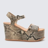 Snake Datiah Wedges