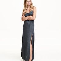 H&M Satin Maxi Dress $39.99
