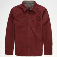 Nixon Corporal Mens Jacket Maroon  In Sizes