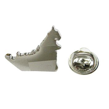 United Arab Emirates UAE Map Shape and Flag Design Lapel Pin
