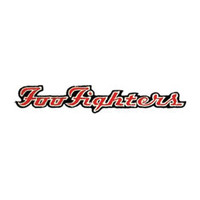 Foo Fighters Men's Embroidered Patch Black