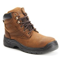 Itasca Authority Men's 6-in. Waterproof Work Boots (Brown)