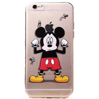 "Apple iPhone 6 Disney's Mickey Mouse clear case iPhone 6 (4.7"")"