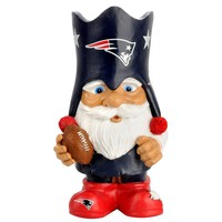 New England Patriots NFL Mad Hatter Gnome