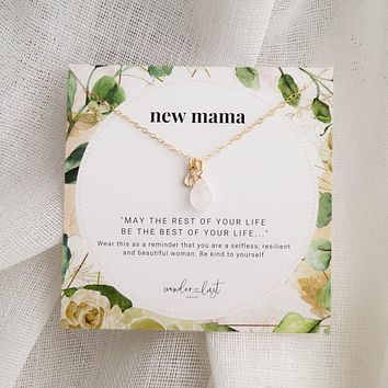 New Mama Necklace