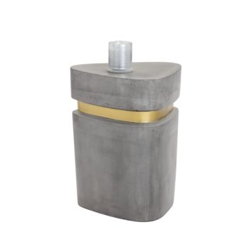 ARTUR SILVER-GOLD CONCRETE SIDE TABLE