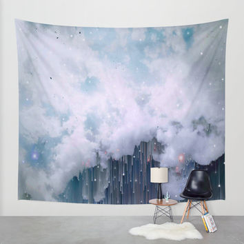 They Will Fall Wall Tapestry by DuckyB (Brandi)