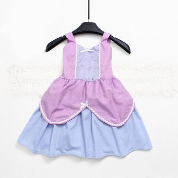Sofia Costumes Princess dress for toddlers and girls fun for special occasion or birthday party cosplay