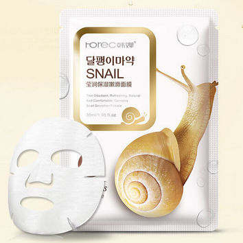 Pure Natural Snail Extract Facial Mask (5 Pcs) Gift 05