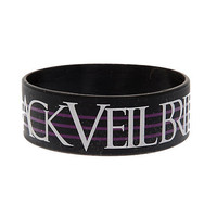 Black Veil Brides Crosses Rubber Bracelet | Hot Topic